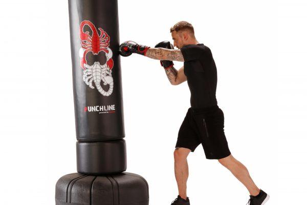 L'entraînement de boxe depuis chez soi
