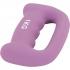 """Paire 2kg (2x1kg) Haltères fitness en néoprène ergonomique """"letter shape dumbbells"""""""