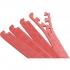 8 x Embouts de finition pour Tapis de protection 1,2cm en mousse EVA Rouge