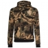 Gorilla Sports camo hoodie avec capuche – CREW logo blanc XL