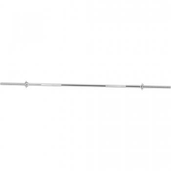Barre longue avec bagues de serrage en forme d'étoile 170cm