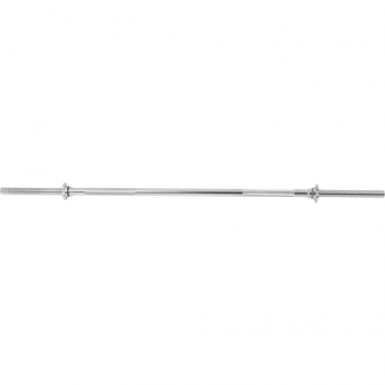 Barre longue avec bagues de serrage d'étoile 150 cm