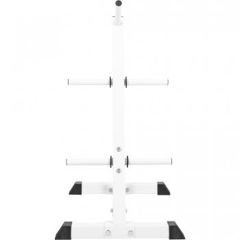 Rack de rangement pour poids disques - BLANC