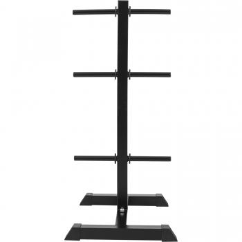 Rack de rangement pour poids disques - noir 30/31mm