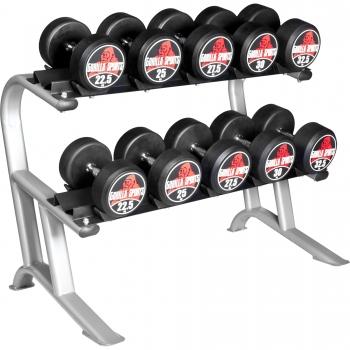 Rack de rangement pour haltères Gorilla Sports PRO
