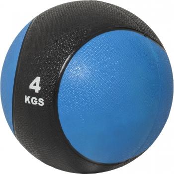Médecine ball 4kg bleue/noir