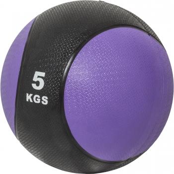 Médecine ball 5kg violette/noir