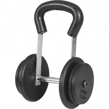 Kettlebell réglable de 1,5 kg à 15 kg NOIR