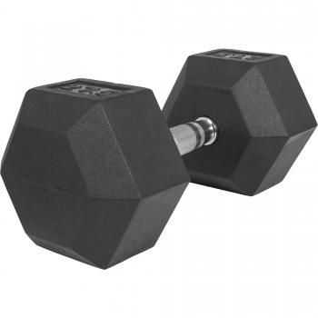 1 x  27,5kg Haltère Hexagonal en Caoutchouc