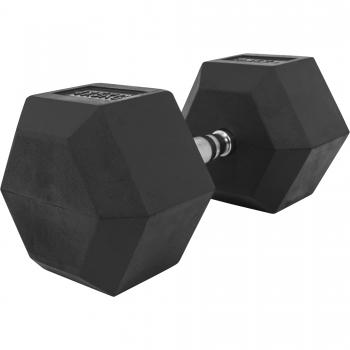 1 x  47,5kg Haltère Hexagonal en Caoutchouc