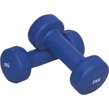 4 KG (2x2,0) Haltère fitness en vinyle