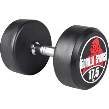 17,5 kg Dumbbell haltère poids