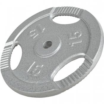 Poids disque avec poignées de 15 Kg