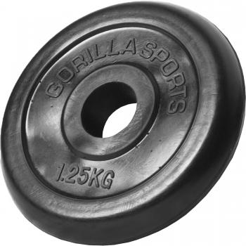 Poids disque en caoutchouc de 1,25 kg