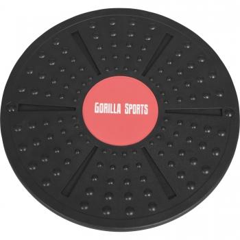 Gorilla Sports BalanceBoard - Plateau d'équilibre - Planche de thérapie