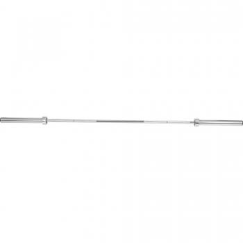 Barre longue olympique 50mm avec stop disques 220cm