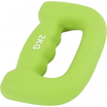 """Paire 4kg (2x2kg) Haltères fitness en néoprène ergonomique """"letter shape dumbbells"""""""