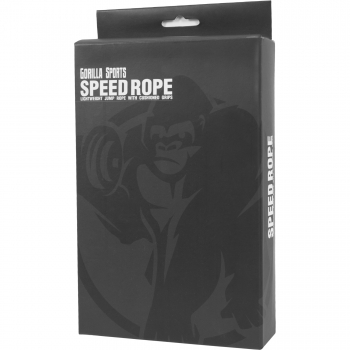 Gorilla Sports corde a sauter - Speed Rope