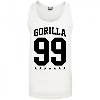 Gorilla Sports tank top blanc – GORILLA 99 - S à XXL