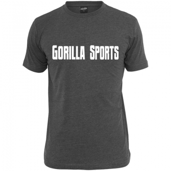 Gorilla Sports T-Shirt charcoal – GORILLA SPORTS - S à XXL