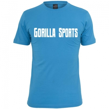 Gorilla Sports T-Shirt turquoise– GORILLA SPORTS - XL