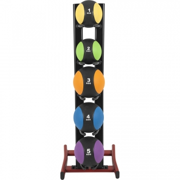 Rack de rangement pour 5 médicine balls