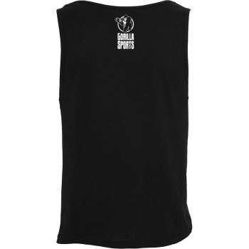 GS002 Gorilla Sports Success Trains TANK TOP noir - L