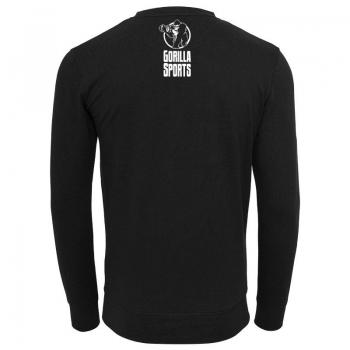 GS003 Gorilla Sports Crewneck sweatshirt noir - L