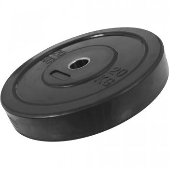Poids Disques en Caoutchouc avec Absorbeur de choc – bumper plates de 20 KG