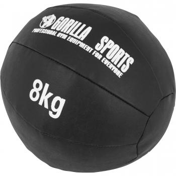 Médecine Ball Gorilla Sports Cuir Synthétique de 8 KG