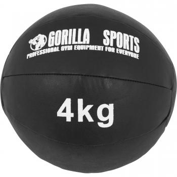 Médecine Ball Gorilla Sports Cuir Synthétique de 1kg à 10kg