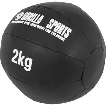 Médecine Ball Gorilla Sports Cuir Synthétique de 2 KG