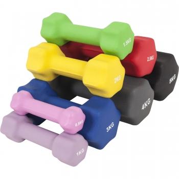 Paire d'Haltères Fitness en néoprène