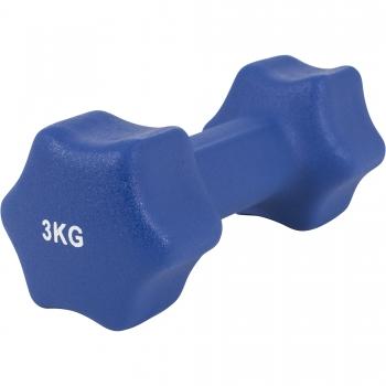 Paire d'Haltères Fitness en néoprène 6 KG (2x3.0)