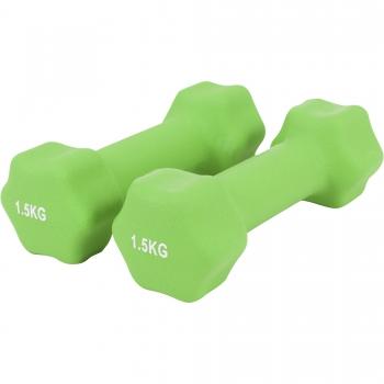 Paire d'Haltères Fitness en néoprène 3 KG (2x1.5)