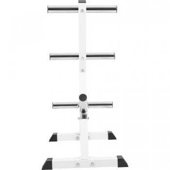 Rack de rangement pour poids Olympiques 4 niveaux 50/51mm blanc