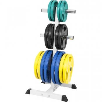 Rack de rangement pour poids disques Olympique 51mm