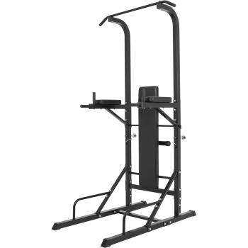 Station d'entrainement multifonctions barre de traction dips banc musculation