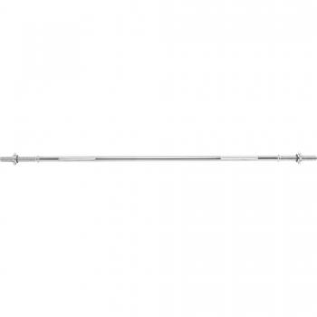 Barre longue avec bagues de serrage en forme d'étoile 170cm, mesure intérieur 128cm