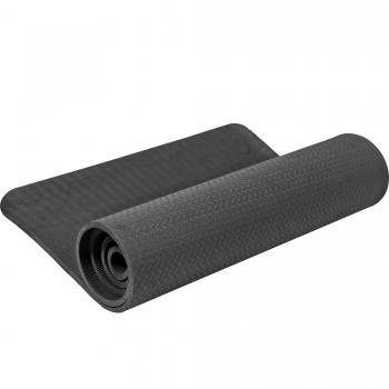 Tapis de Yoga fin 173cm x 61cm x 10mm NOIR
