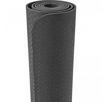 Tapis de Yoga fin 173cm x 61cm x 4mm NOIR