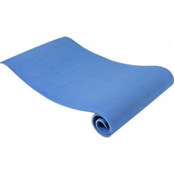 Tapis de Yoga fin 173cm x 61cm x 10mm BLEU