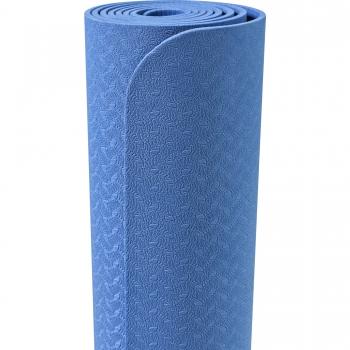 Tapis de Yoga fin 173cm x 61cm x 4mm BLEU