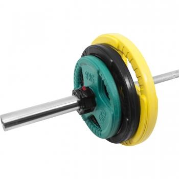 Stop disques - Fermeture rapide pour barres d'haltères Olympiques 50mm