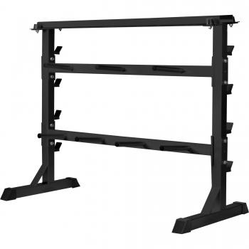Rack de rangement pour poids et haltères 30/31mm - NOIR ou BLANC
