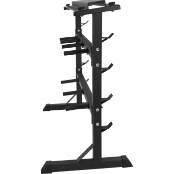 Rack de rangement pour poids et haltères 30/31mm - NOIR