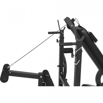 Banc de musculation universel avec support pour haltères NOIR