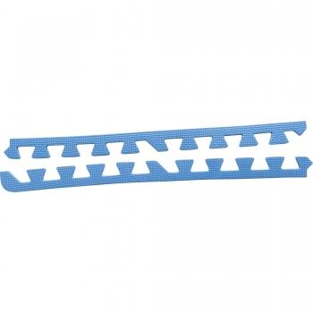 8 x Embouts de finition pour Tapis de protection 1,2cm en mousse EVA Bleu