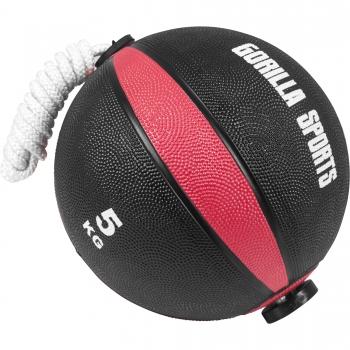 Ballon d'exercice avec corde de- tornado ball en 5 KG