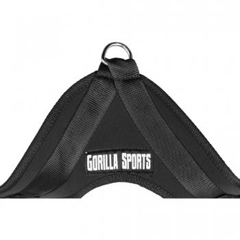 Gorilla Sports Harnais à abdominaux en nylon et néoprène